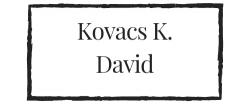 Kovacs K. David